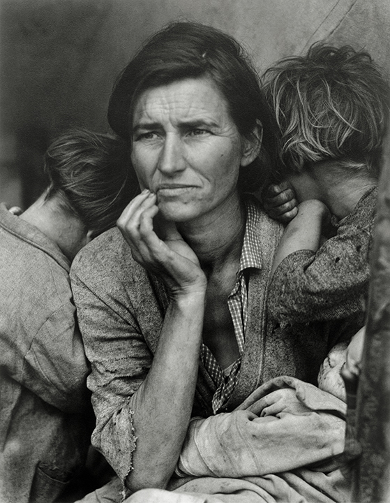 Dorothea Lange, American (1895-1965). <em>Migrant Mother, Nipomo, California</em>, 1936; printed early 1960s.