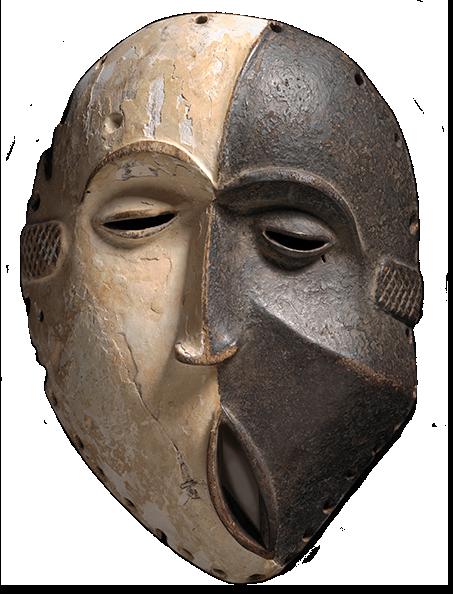 <em>Mask</em>, Idoma, early 20th century.