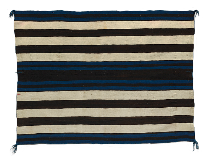 <em>First Phase Chief Blanket</em>, ca. 1850.