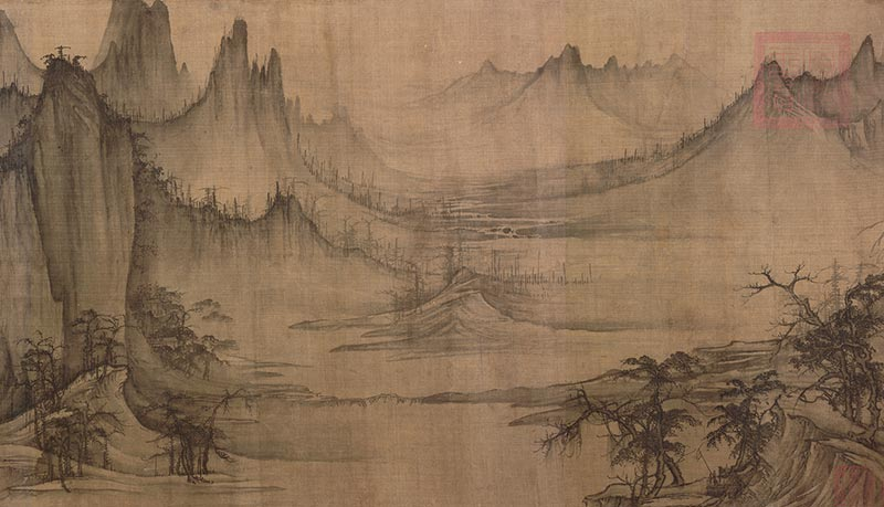 Xu Daoning, Chinese (ca. 970-1051/1052). <em>Fishermen's Evening Song</em> (section), ca. 1049, Northern Song Dynasty (960-1127).