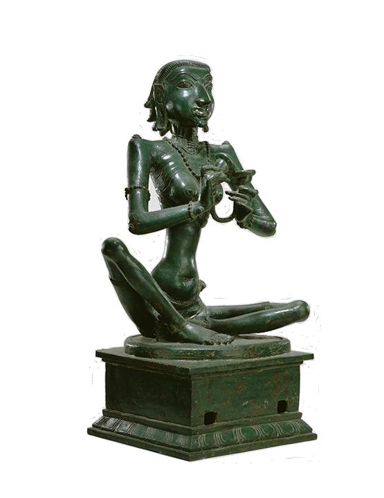 <em>Karaikkal Ammaiyar, a Shaiva Saint</em>, Indian, Tamil Nadu, 11th century.