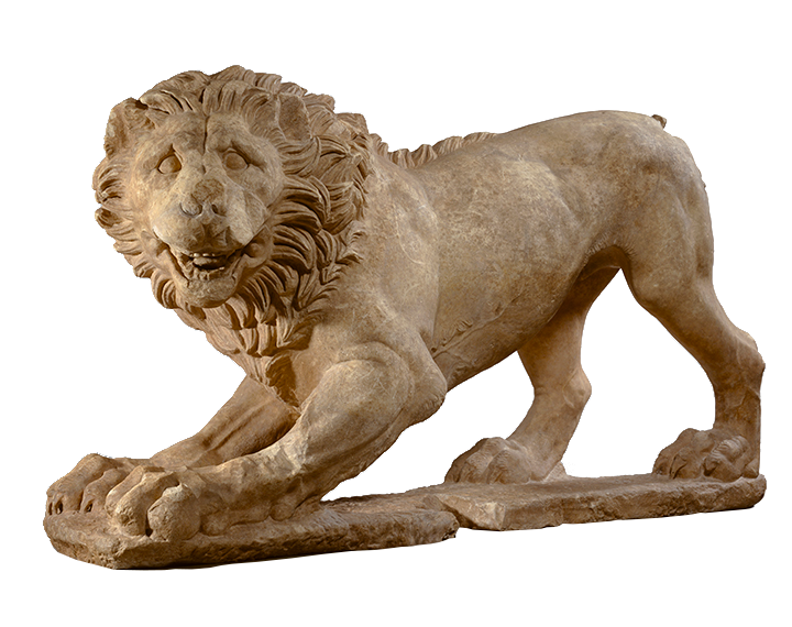 <em>Lion</em>, Greek (Attica), ca. 325 B.C.E.