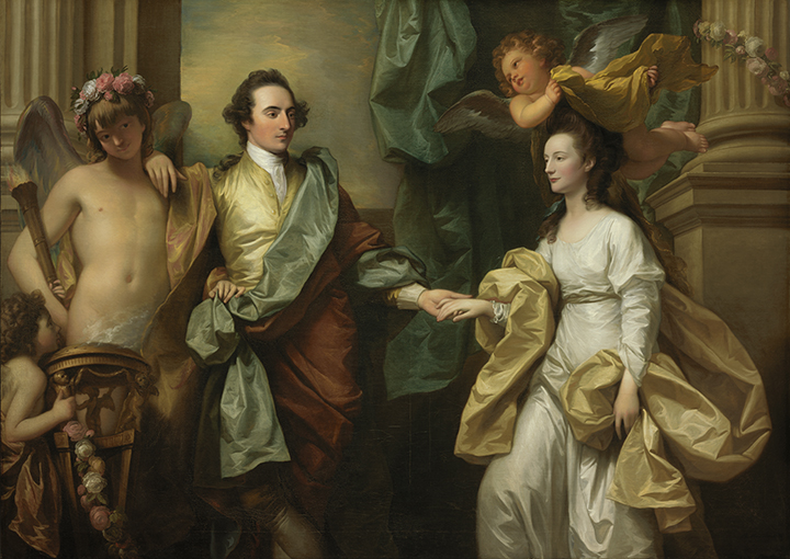 Benjamin West, <em>Mr. and Mrs. John Custance</em>, 1778.