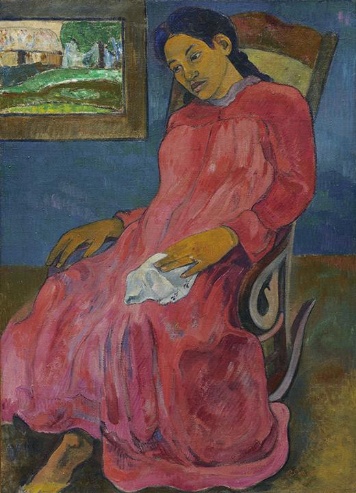 Paul Gauguin, French (1848-1903). <em>Faaturuma (Melancholic)</em>, 1891.