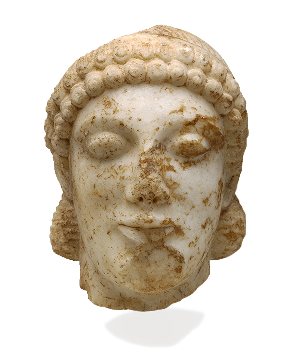<em>Kouros (Boy)</em>, Probably from Attica, ca. 490 B.C.E.