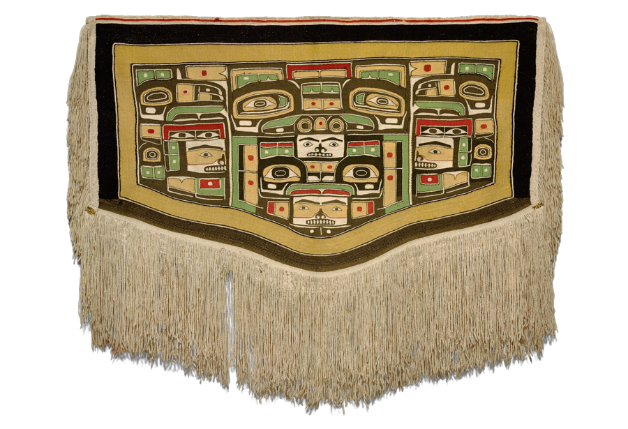 Mary Ebbetts Hunt,<em>Chilkat Robe</em>, ca. 1880–1900.