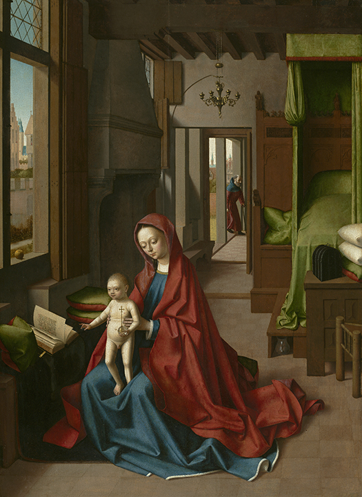 Petrus Christus, <em> Virgin and Child in a Domestic Interior</em>, ca.1460-1467.