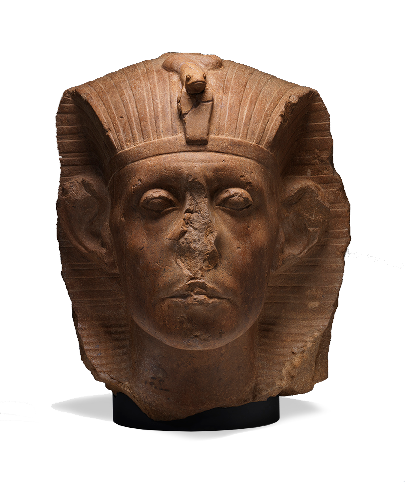 <em>Head of Sen-useret III</em>, ca. 1874-1855 B.C.E..