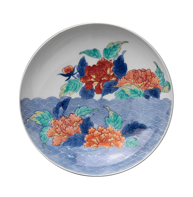 <em>Footed Dish</em>, Nabeshima Ware Porcelains, Japan, late 17th–18th century, Edo period (1615–1868).