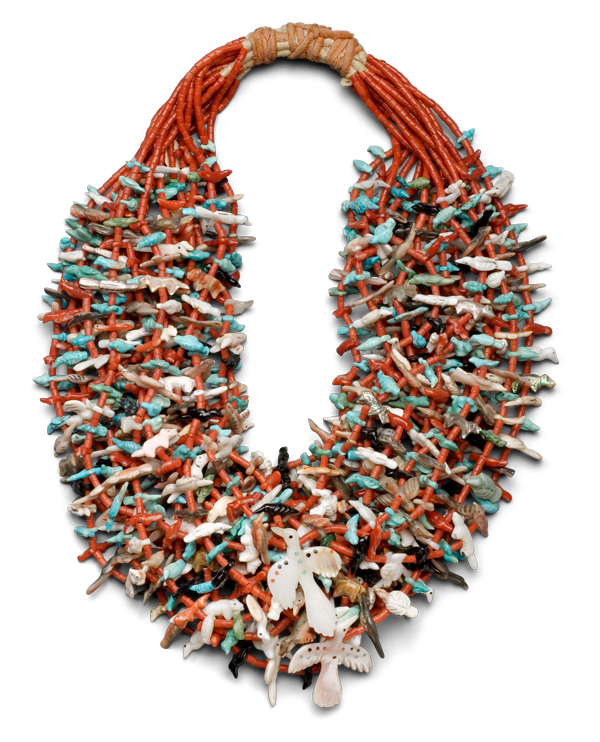Leekya Deyuse, <em>Fetish Necklace</em>, ca. 1935.
