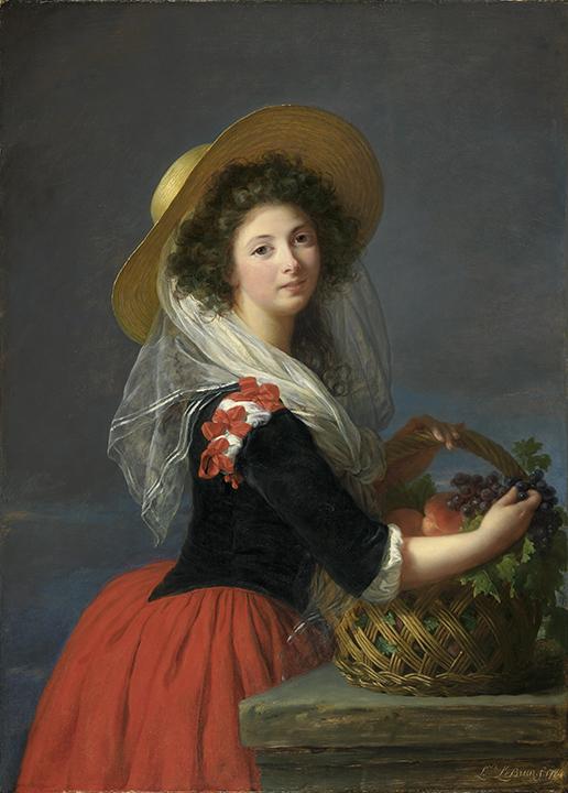 Elisabeth Louise Vigée Le Brun, French (1755-1842). <em>Portrait of Marie-Gabrielle de Gramont, Comtesse de Caderousse</em>, 1784.
