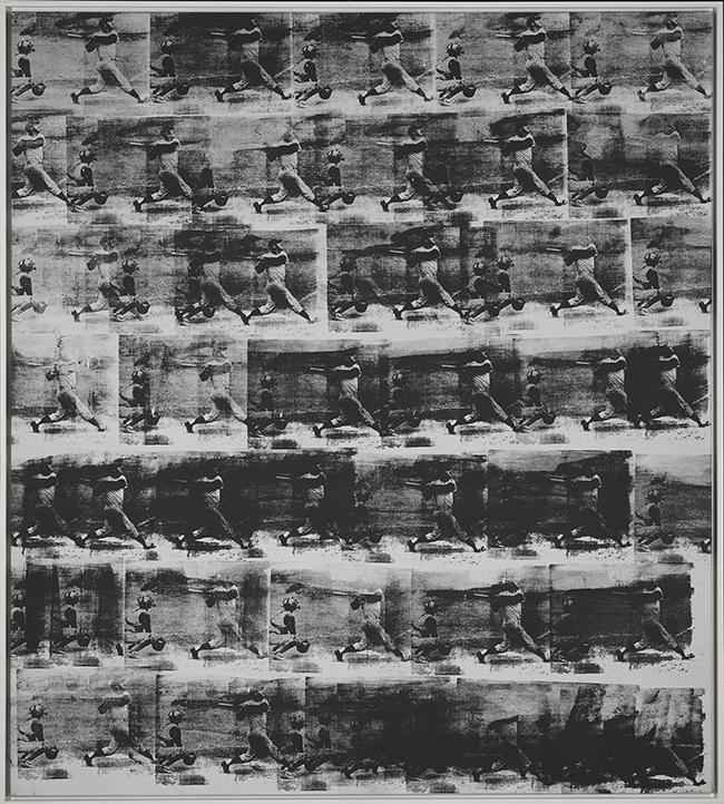 Andy Warhol, American (1928-1987). <em>Baseball</em>, 1962.