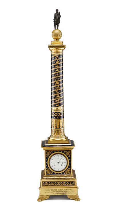 Jean-Joseph Lepaute, clock movement, French (1768-1846). Manufacturer: Sèvres Imperiale Manufactory, France (1756-present), Clock, 1813.
