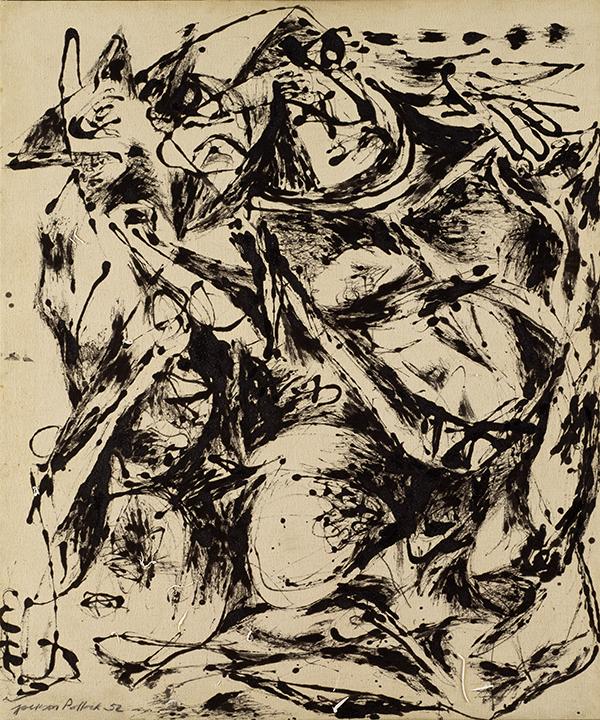 Jackson Pollock, American (1912-1956). <em>No. 6, 1952</em>, 1952.