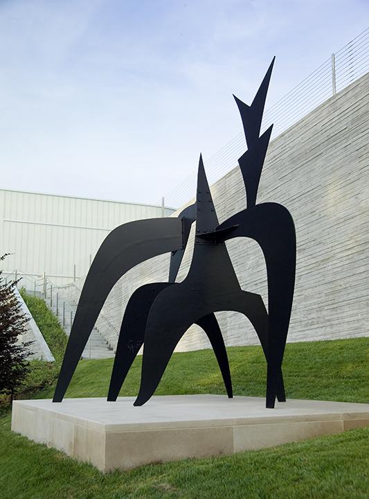 Alexander Calder, American (1898-1976). <em>Tom's Cubicle</em>, 1967.