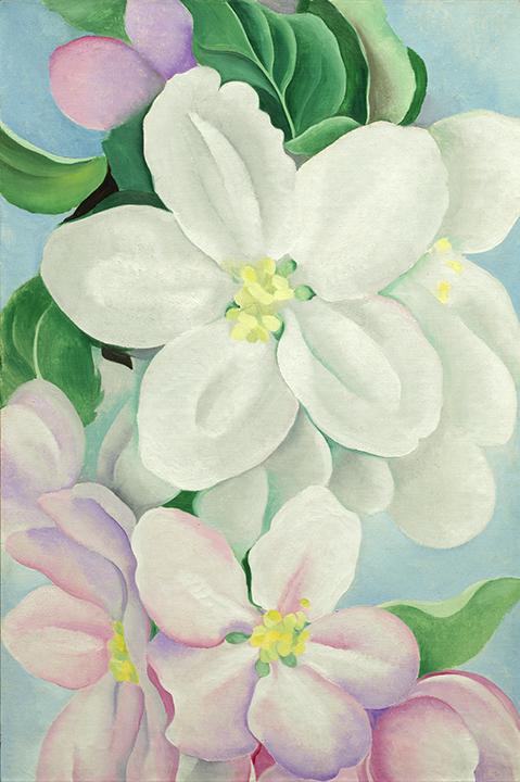 Georgia O'Keeffe, <em>Apple Blossoms</em>, 1930.