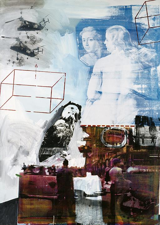Robert Rauschenberg, American, 1925-2008. <em>Tracer</em>, 1963.