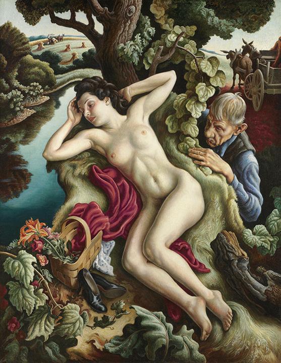 Thomas Hart Benton, <em>Persephone</em>, 1938-1939.