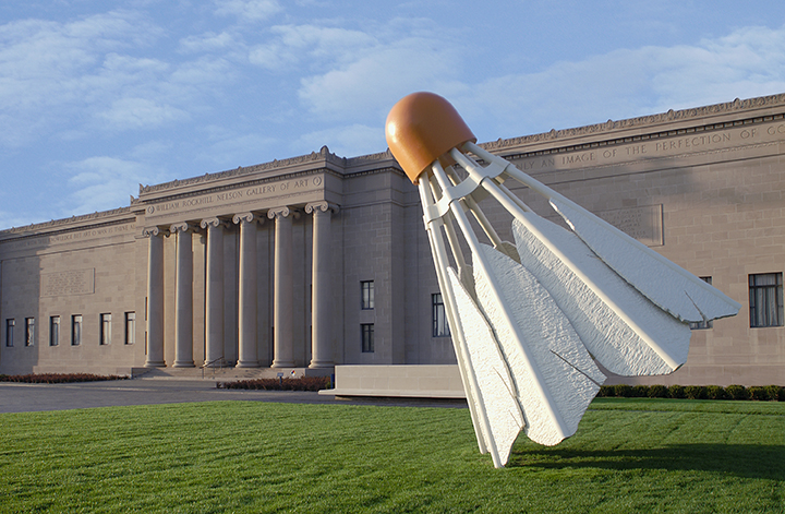 Claes Oldenburg, American (b. Sweden, 1929), Coosje van Bruggen, American (b. The Netherlands, 1942-2009). <em>Shuttlecocks</em>, 1994.