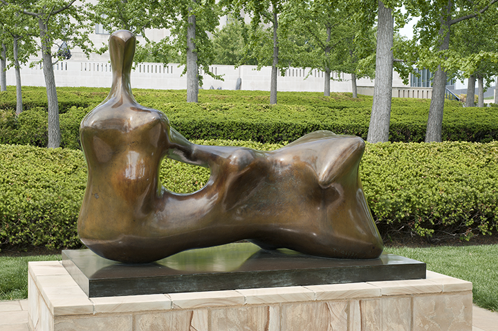 Henry Spencer Moore, English (1898-1986). <em.Reclining Figure: Hand</em>, 1979.