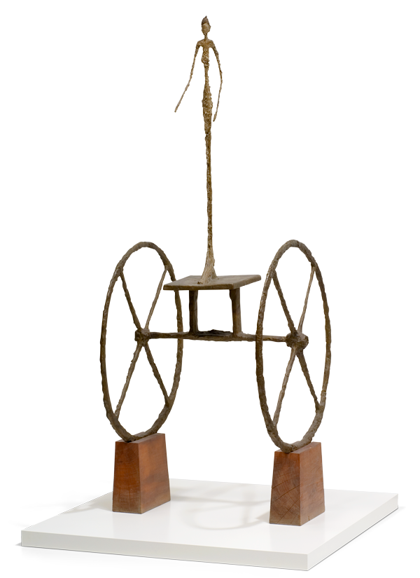 Alberto Giacometti, Swiss (1901-1966). <em>The Chariot</em>, 1950.