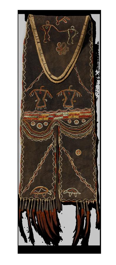 <em>Tab Bag</em>, Eastern Great Lakes, ca. 1800.