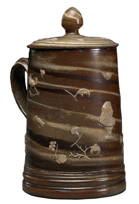 Factory of John Dwight, England (Fulham), 1670-1859. <em>Covered Tankard</em>, ca. 1685-1690.