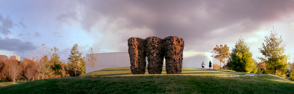 Three Bowls by Ursula von RYDINGSVARD