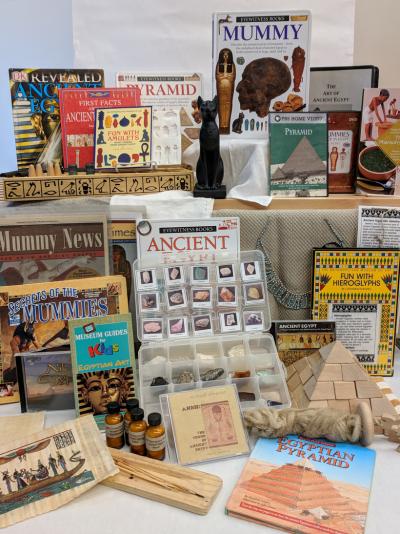 Materials for Egypt kit