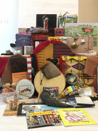 Materials for Plains Indians kit