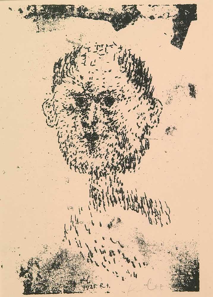 Bearded Man by Paul Klee