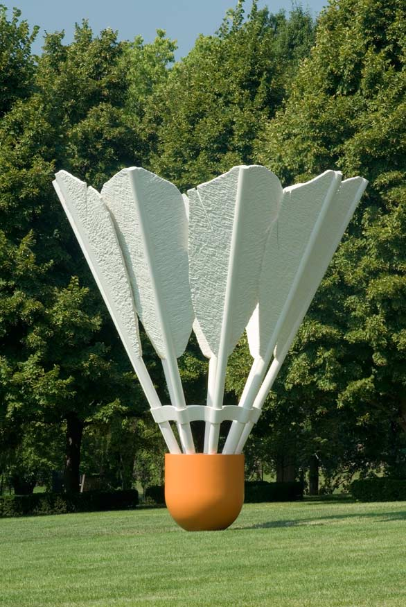Shuttlecocks by Claes Oldenburg