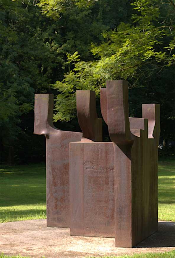 Sculpture by Eduoardo Chillida