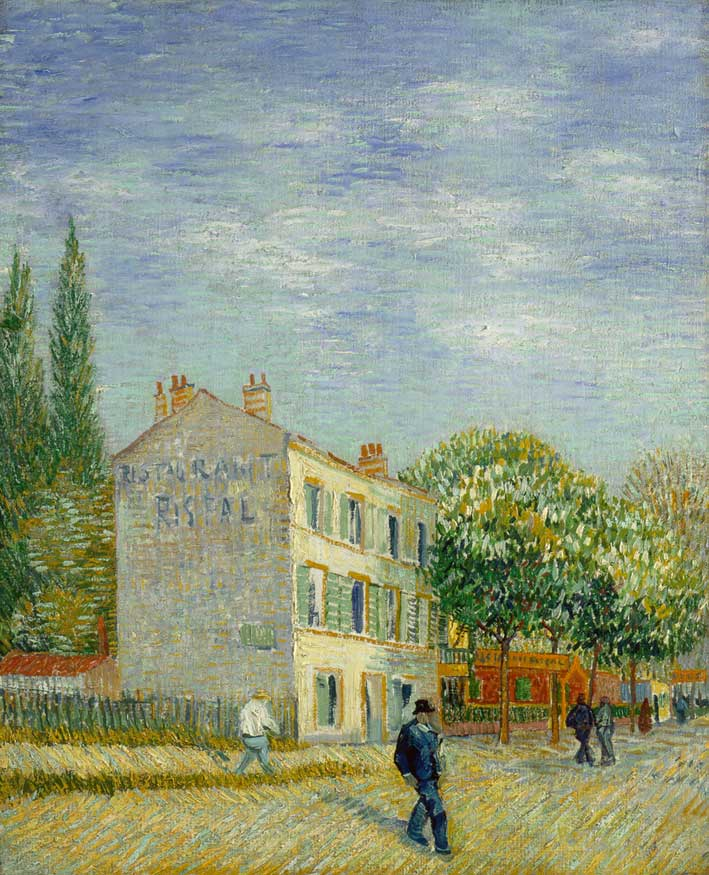 Restaurant by Van Gogh