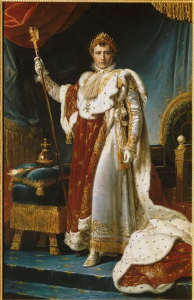Napoleon in state attire
