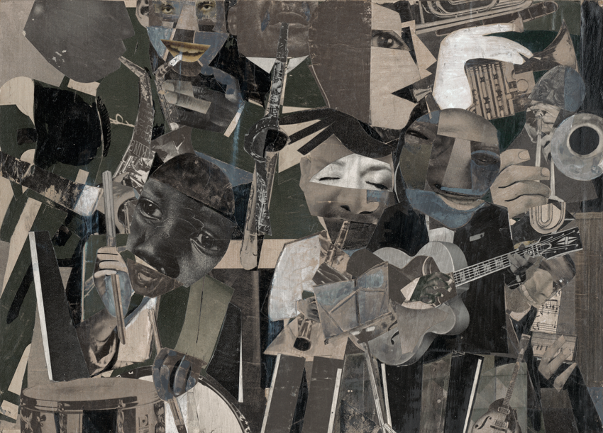 Jazz at the Savoy by Romare Bearden