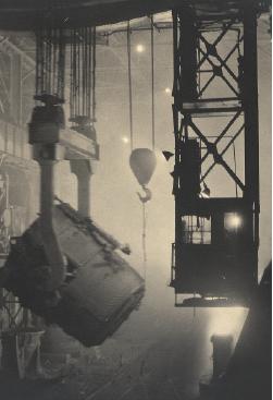 200 Tons, Ladle, Otis Steel Mill, 1928