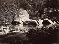 View on the Merced, Yosemite, ca. 1872