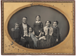 Portrait of a family, ca. 1852–1858