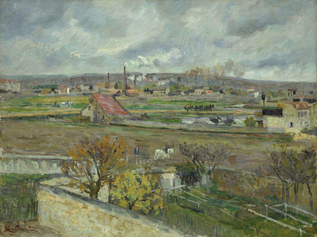 Landscape, Ivry-sur-Seine